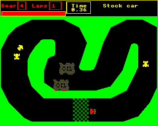 Stock car track 1